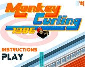 Игра Monkey Curling