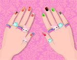 Игра Nail Art Salon