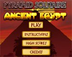 Игра Pyramid Solitaire Ancient Egypt
