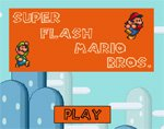 Игра Super Flash Mario Bros