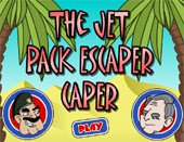 Игра The Jet Pack Escaper Caper